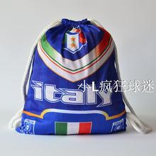 sports outdoor polyester Italy soccer bag Portable football fan football boots shoes bag Fans souvenirs storage bag gift