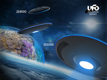 Zetlight UFO ZE-8000 All optical spectrum LED seawater coral light with WIFI control.Sea marine coral SPS LPS reef fish tank LED(China)