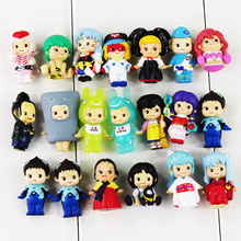 20pcs/lot Sonny Angel kewpie Doll Sonny Angel Cosplay EVA Shinji Ikari Inuyasha Minamoto Shizuka Mini Model Toy Cute Figure(China)