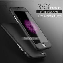 2016 luxury brand New design 360-degree protective case for Apple iPhone 6 4.7 Plus 5.5 inch Phone Bags for iphone 6s back cover