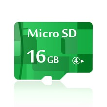 New 16GB Memory Card Micro SD Card 16 GB Green TF Card Full Capacity Guaranteed 1 Year Warranty