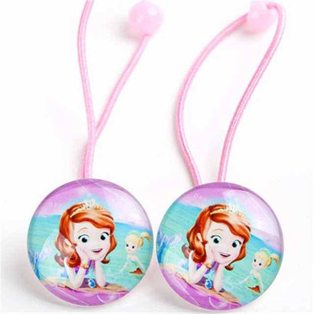 1Pairs-2pcs-New-Lovely-Hair-rope-Cartoon-Sofia-Snow-White-Princess-Hair-Accessories-Elastic-Hair-ring.jpg_640x640 (1)