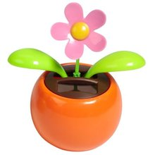 LeadingStar Solar Toy Dancing Flower Assorted Colors Great as Gift or Decoration(China)