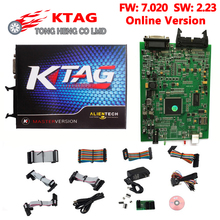 Hot Sell K TAG KTAG K-TAG V2.10 HW 5.001 / V2.13 HW 6.070 / V2.23 HW 7.020 ECU Programming tool Master Version Chip Tunning Tool