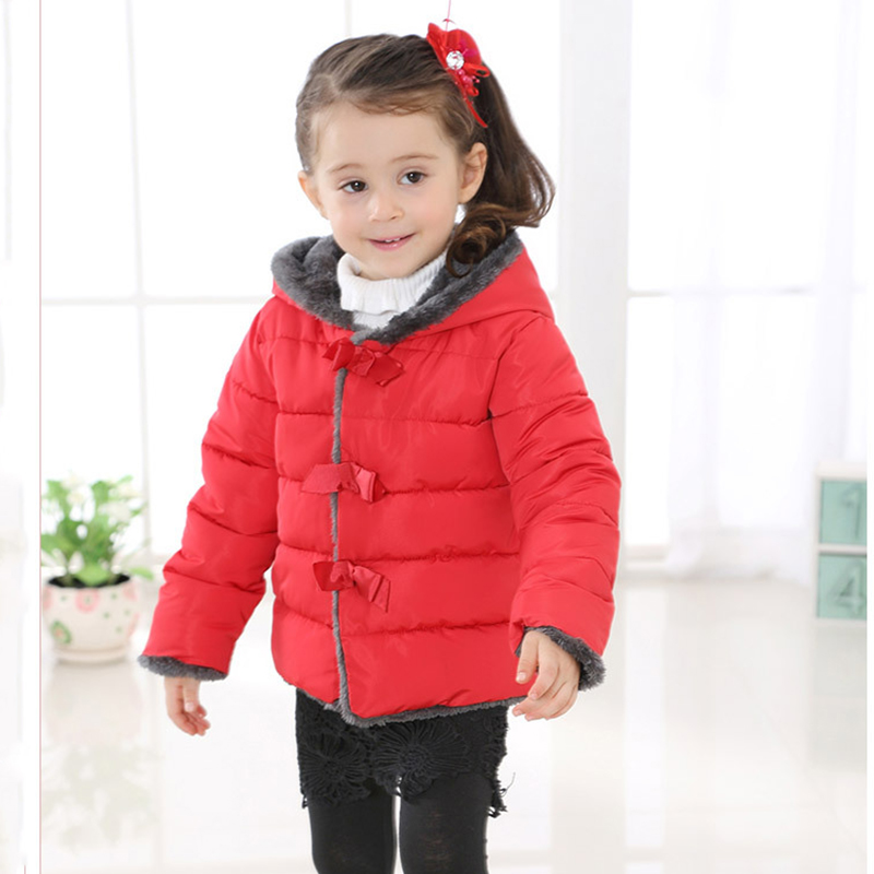 New 2017 Children Parkas Girls Winter Coat Duck Down Thicken Hooded Winter Jacket For Girls Thermal Wadded Coat OuterwearОдежда и ак�е��уары<br><br><br>Aliexpress