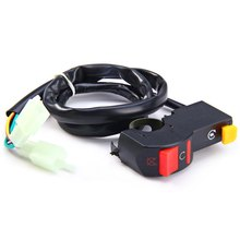 ATV Motorcycle Motorcross Flameout Light On-off Headlamp Horn Switch Handlebar Motorcycle ATV Headlight Suitable for All Voltage