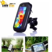 Universal Bike Bicycle Motorcycle Waterproof Cell Phone Case bag Handlebar Mount Holder Stand for iPhone7 6 Samsung Smartphone(China)