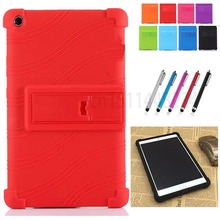 "Thickening Shockproof Back cover Shell Funda Case Huawei MediaPad M3 Lite 8.0"" Tablet CPN-W09 CPN-AL00 child Silicone case"