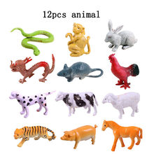 SsXz 32pcs/set Plastic Marine Animal Model Toy Figure Ocean Creatures Dolphin Kids Toy Best Model Gift For Children Kids(China)
