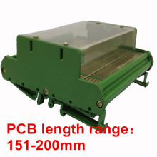 UM108 PCB length: 151-200mm pcb plastic instrument case enclosure electronics case with flat cover