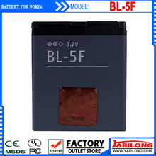BL-5F bl 5f 950mAh Rechargeable Mobile Battery Bateria for Nokia 6210si/6210n/6210s/6260s/6290/6710n/e65/n93i/n95/n96/n98/n99/