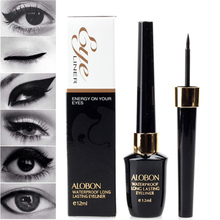 LEARNEVER New Cosmetic Waterproof Eye Liner pencil make up black liquid Eyeliner Shadow Gel Black EyeLiner Pencil Pen M01768