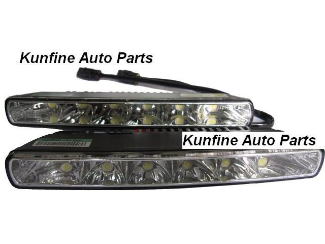 Free shipping! E8 Certificated, 12V/12W Auto LED Daytime Running light with turnning light function KF-L1045<br><br>Aliexpress