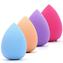 Beauty Silicone Sponge Fashion Maquiagem Cute Water Droplets Powder Sponge Puff Makeup Beauty Tools