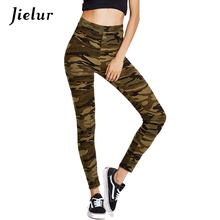 New Fashion Autumn Pants Women Leisure Camouflage Printed Women's Pants Female Tight Slim Pantalon Femme Casual Slim Trousers(China)