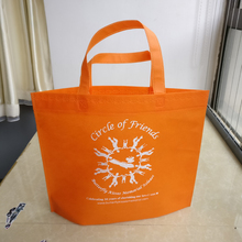 wholesales 1000PCS/lot reusable non woven shopping bags custom printed logo Low Cost cheap promotional fabric grocery tote bags