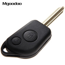 Mgoodoo Remote Car Key Shell Case Fob For Citroen Saxo Berlingo Picasso Xsara 2 Buttons Auto Key Shell Replacement Car Covers