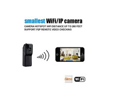 4GB Card+Mini Wifi Ip Wireless Surveillance Camera Remote Cam Support Android Iphone PC Viewing(China)