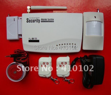wholesale 900/1800/1900 MHZ Wireless GSM Home Alarm System+ Russia Manual(China)