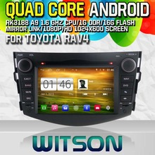 WITSON S160 CAR DVD for TOYOTA RAV4 2008-2011 STEREO GPS Quad Core Android 4.4+CAPACITIVE 1024X600 HD+16G Flash+PIP+WIFI/DVR(China)