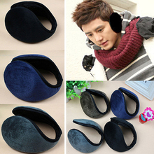 1pc Random Color Unisex Fleece Earmuff Winter Ear Muff  Band Warmer Grip Earlap Gift