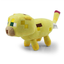 24cm Minecraft Ocelot Plush Toys High Quality Minecraft Stuffed Toys Anime Dolls Baby Toys Birthday Gifts(China)