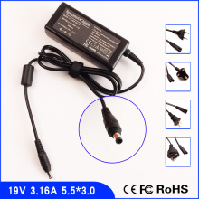 19V 3.16A Laptop Ac Adapter Power SUPPLY + Cord for Samsung RC510 NP-RC510 RC512 NP-RC512 RC518 NP-RC518 NP-Q1 Ultra Q1U(China)