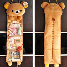 1pc Cute Soft Plush Rilakkuma Long Hanging Storage Bag Toy Super Kawaii Hanging Bag Creative Home/Family Decor Gift for Girls(China)