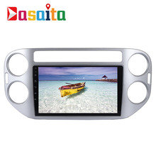 "Dasaita 9"" Android 7.1 Car GPS Player Navi for Volkswagen VW Tiguan 2010-2015 with 2G+16G Quad Core Stereo Radio Multimedia HDMI(China)"