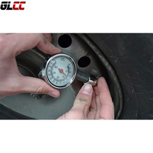 Tire Pressure Gauge Used For Car Truck Bike High Precision Practical and durable Mechanical 100PSI Free Shipping(China)