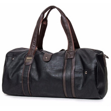men's travel bags oil wax leather handbags Luggage Bolsa Depo portable shoulder men casual package for Palaestra large capacity