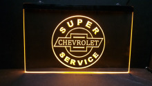 tr18 super chevrolet service car beer bar pub LED Neon Light Sign Wholeselling Dropshipper(China)