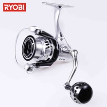 RYOBI TT POWER Full Matal Body 6BB Spinning Fishing Reel Saltwater Spinning Wheel Max Drag 5kg Spinning Reel Fishing(China)