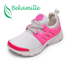 Kids leisure shoes fashion boys girls baby breathable mesh shoes Autumn New Children Student Running shoes