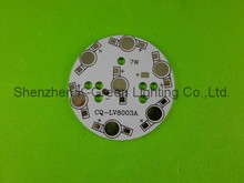 500X Wholesale 7W LED aluminum pcb for led lighting project express free shipping