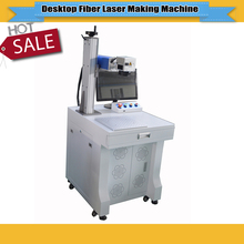 hot sale excellent quality desktop fiber laser marking machine 20W for Gold, Silver, Stainless Steel etc laser marking(China)