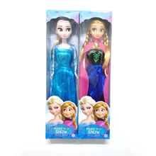 Hot Sale Boxed Princess Elsa Anna Baby Dolls Kids Cartoon Toys For Children Girl Sharon Doll Brinquedos Meninas The Snow Queen