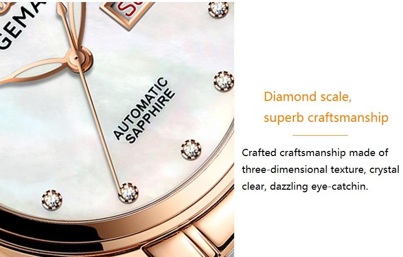 GEMAX Women Watches Waterproof Automatic Mechanical Watch Ladies Fashion Top Brand Diamond Calendar Ceramic Sapphire MIYOTA 2017 (13)