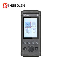LAUNCH CReader 619 OBDII/EOBD Code Reader Supports ABS/SRS diagnostic X431 CR619 CReader 619 Similar as Autel AL619 Auto Scanner(China)