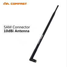 Comfast CF-ANT2410I RP-SMA FeMale WIFI Antennas connector 2.4GHz 10dBi Wireless Booster WLAN Antenna For USB Modem Router PCI
