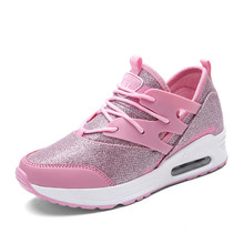KERZER 2017 Runing Shoes For Women Summer Sport Shoes Air Black//Pink Girls Jogging Walking Sneakers Breathable Ladies Trainers