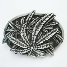 Retail Distribute Western Leaf Belt Buckle Gurtelschnalle Boucle de ceinture BUCKLE-T077 Free Shipping