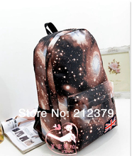 1 piece unisex backpack Fashion school bags oxford stars bags book bag Galaxy backpack Best Quality