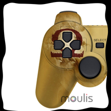 Free shipping NEW God of war Mars wireless Bluetooth SixAxis Game Gamepad Original For PS3 controller joystick