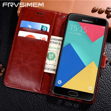 FRVSIMEM Leather Phone Case For Samsung Galaxy S3 S4 S5 S6 S7 edge S8 Plus Note 8 Note8 Flip Wallet Case Cover(China)