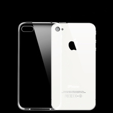 Clear Transparent Soft TPU Silicone Silicon Rubber Back Cover Phone Bumper Case For Apple iPhone 4 4S 5S 5 S Se Case Capa Fundas