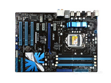 Free shipping original ASUS P7H55 motherboard LGA1156 Intel H55 chipset i3 i5 i7 16G DDR3, work perfect