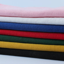 20*95cm new arrival baby Cotton clothing close rib stretch knitted hoody cuff