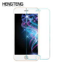 Tempered Glass Screen Protector Film For iPhone 6 6S Plus 5 5S SE 4 4S HD Toughened Protective Guard 9H Anti-Scratch phone film(China)