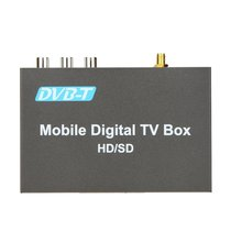 DVB-T Tuner Car Digital TV Box Analog TV Tuner High Speed 240km/h Strong Signal Receiver Digital TV Converter Box